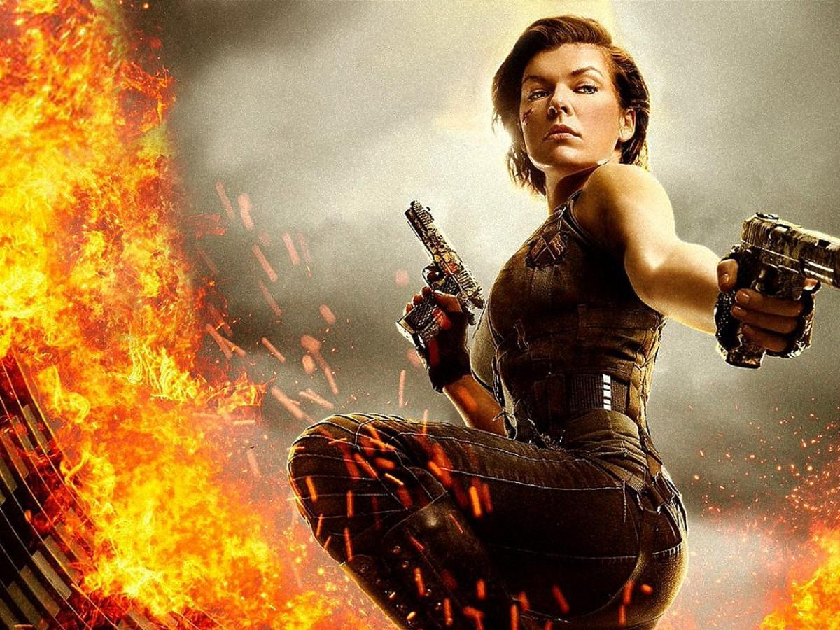 Milla Jovovich w filmie Resident Evil Ostatni rozdział