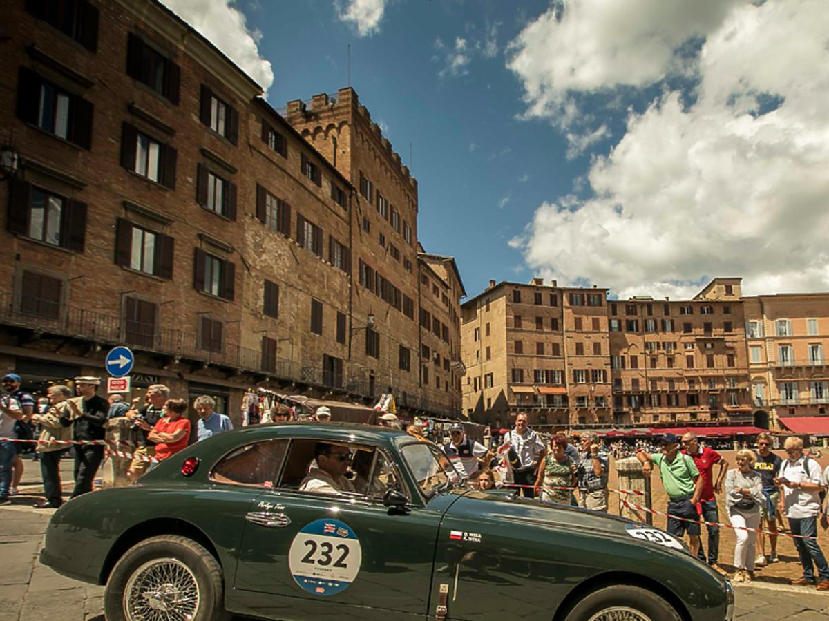 Mille Miglia, Team Perlage, Dorota Weka i Krzysztof Weka, Aston Martin DB2