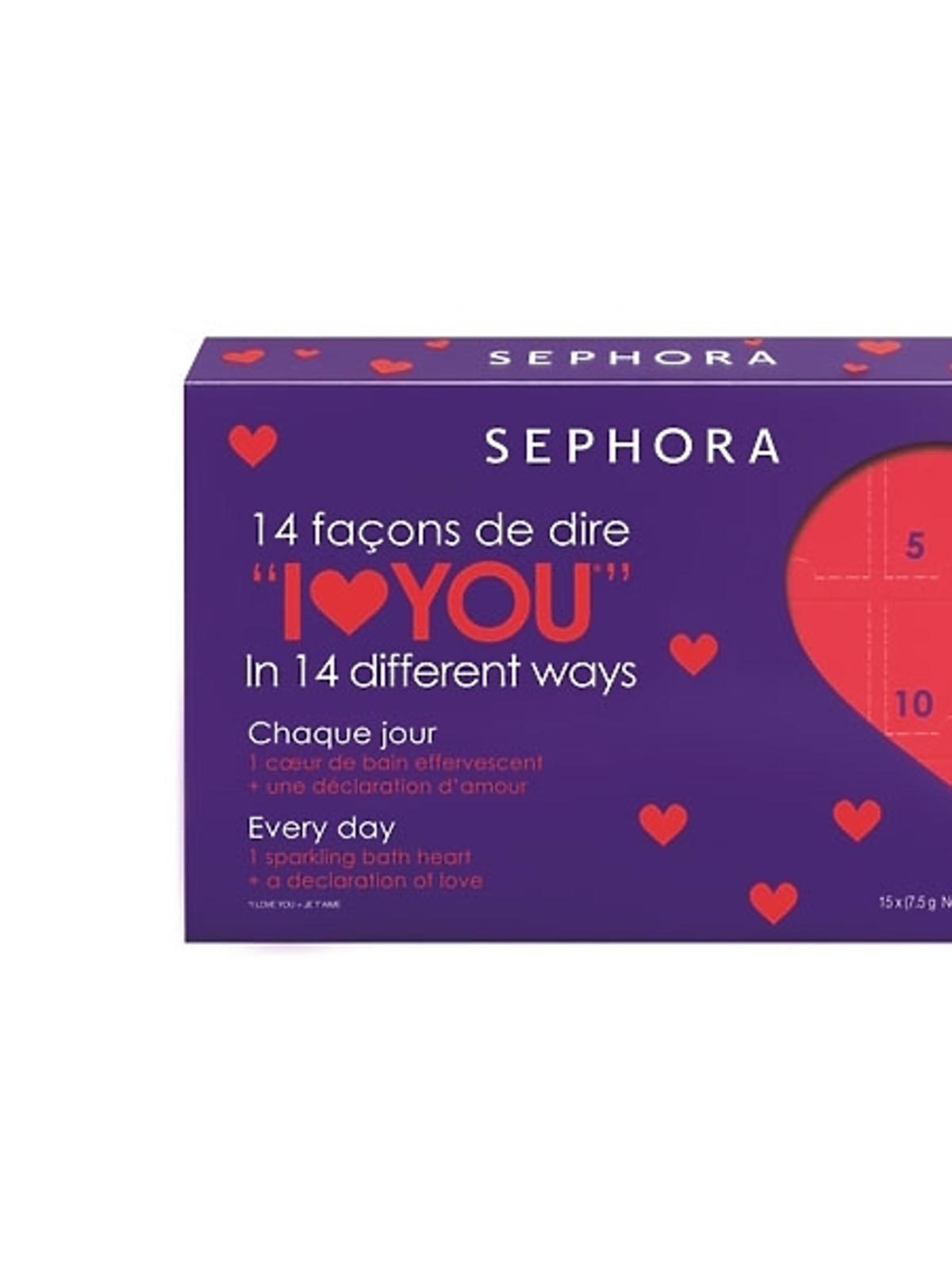 Miłosny kalendarz - 15 musujących mydełek Sephora, cena