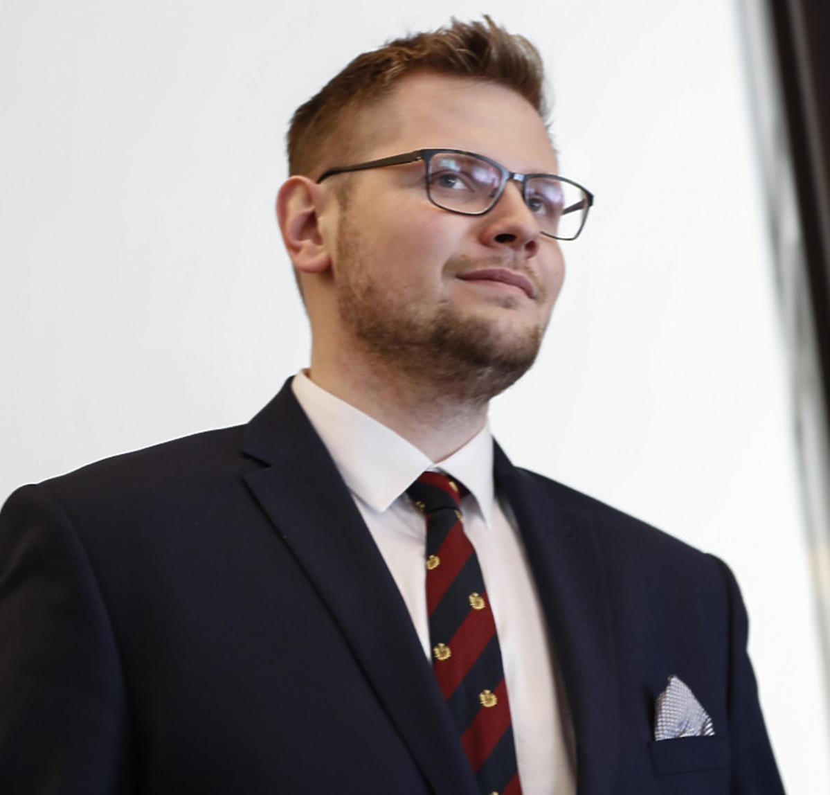 Minister środowiska Michał Woś ma koronawirusa