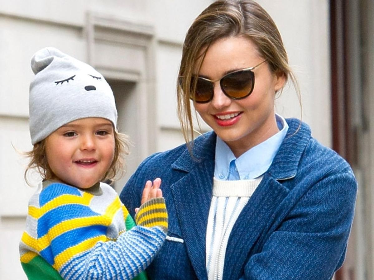 Miranda Kerr z synkiem Flynnem Bloomem