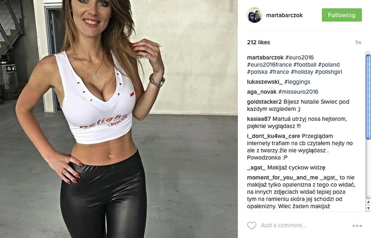 Miss Euro 2016 Marta Barczok
