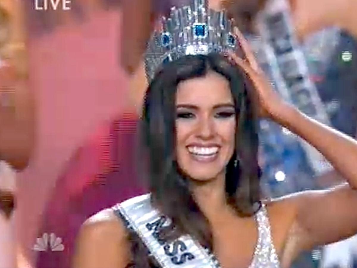 Miss Kolumbii Paulina Vega została Miss Universe 2015