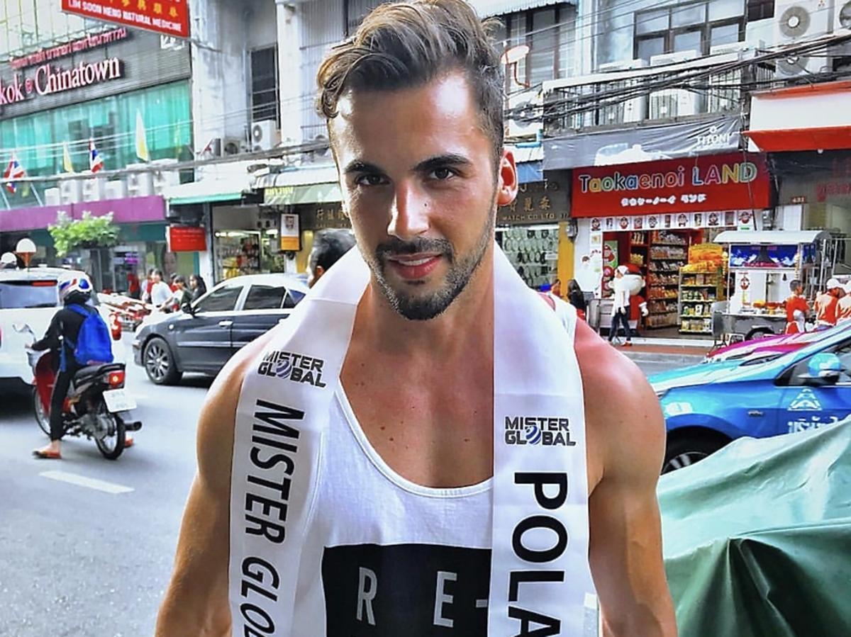 Mister Polski na światowym konkursie dla mężczyzn Mister Global 2018! Jakub Kucner ma szansę na wygraną?