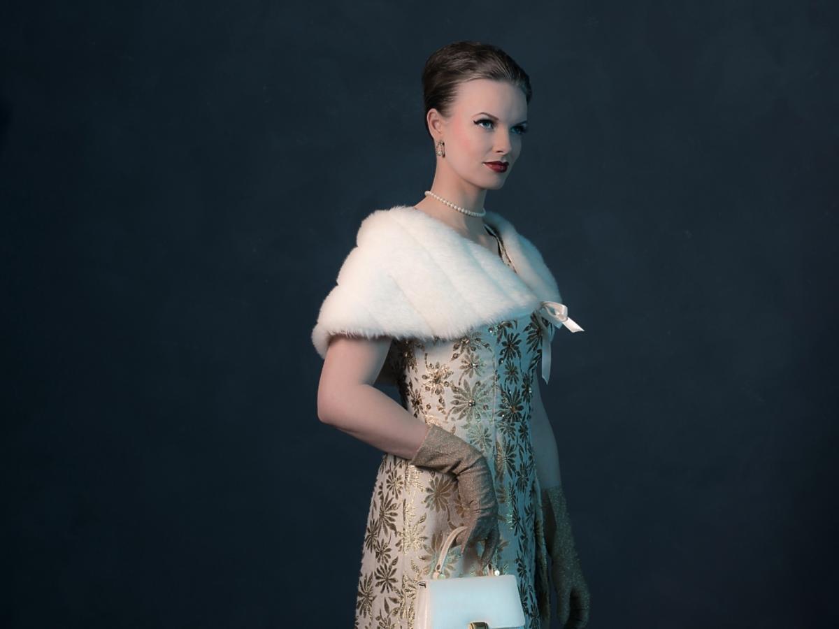 Moda z lat 50.-tych - stylizacja vintage