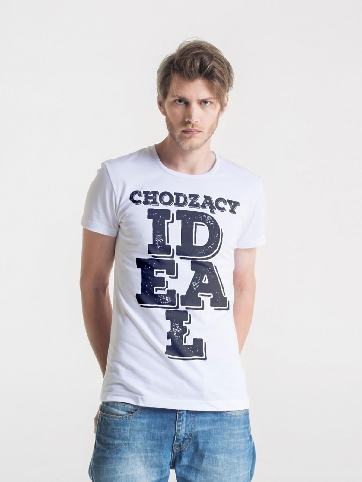 T-shirt CHODZĄCY IDEAŁ, Great As You/Pakamera.pl, 79 zł