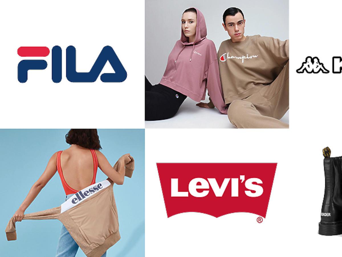 Modne marki z lat 90
