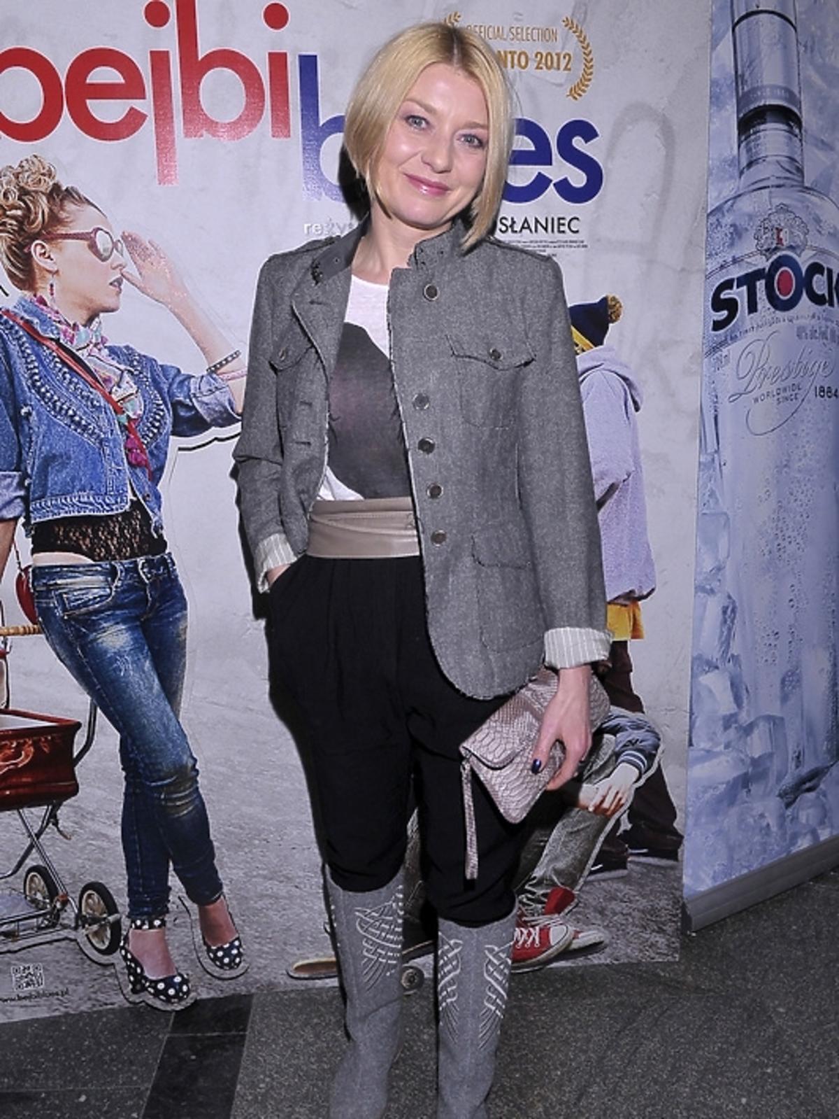 Modowa wpadka Edyty Olszówki