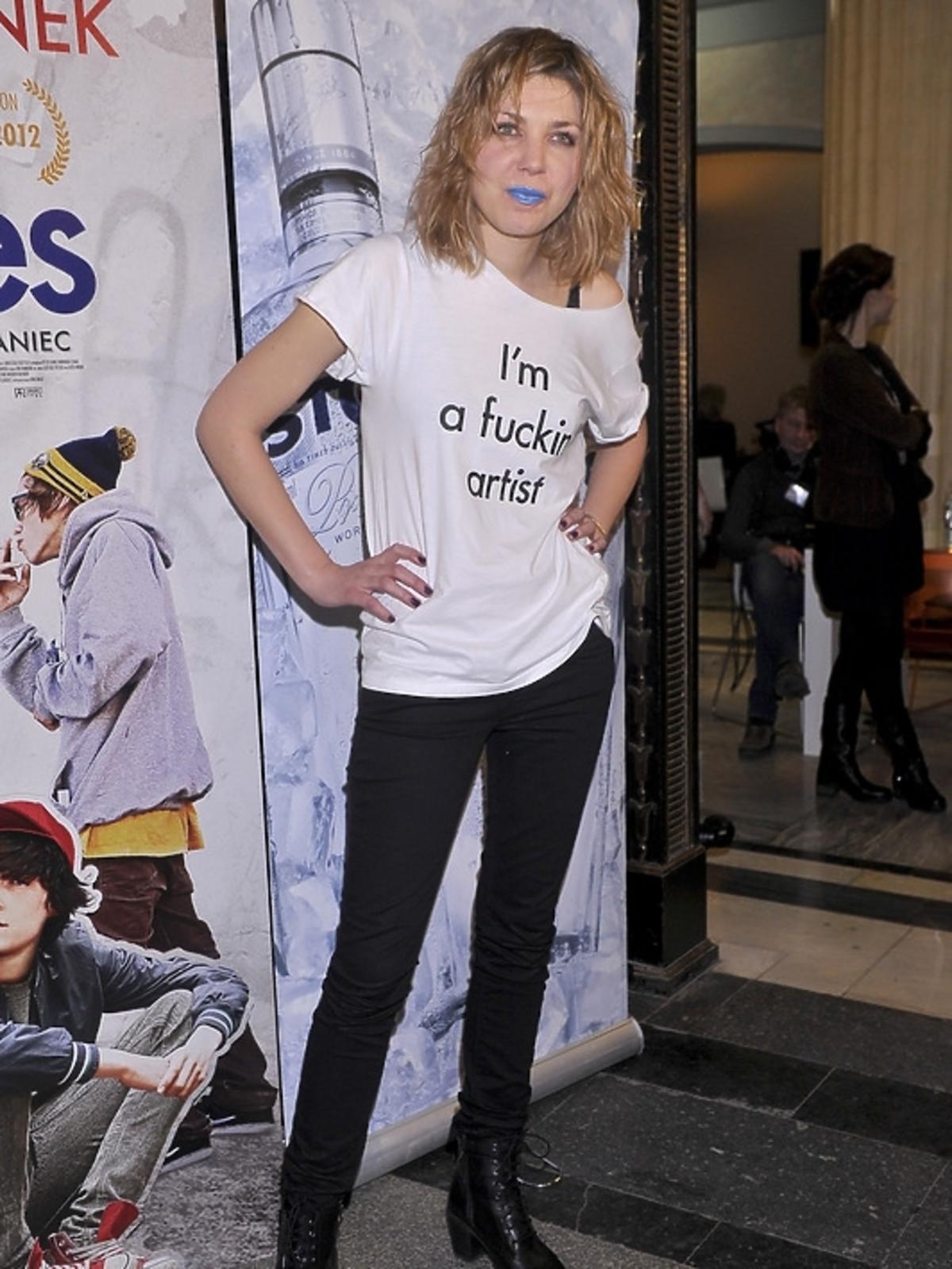 Modowa wpadka Katarzyny Rosłaniec