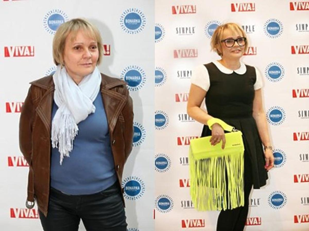 Modowe metamorfozy z Małgorzatą Kożuchowską w Centrum Handlowym Bonarka w Krakowie