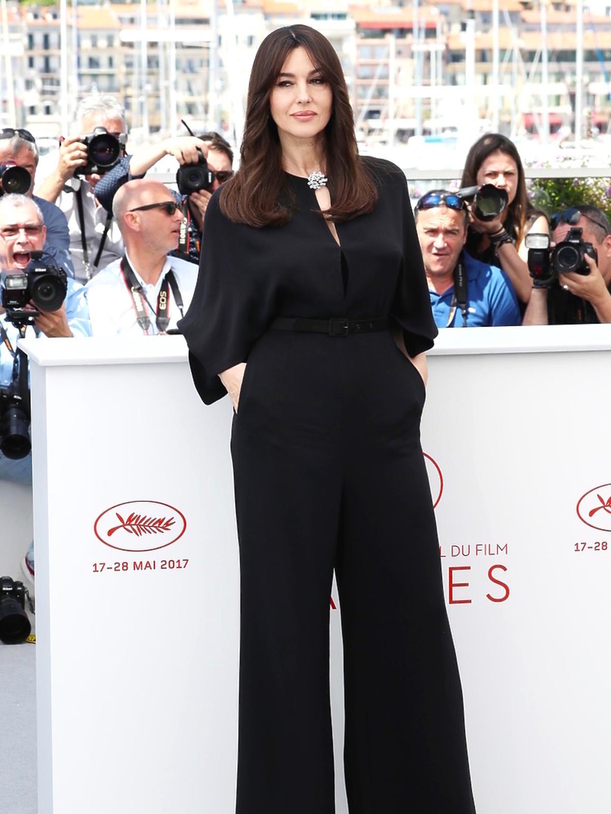 Monica Bellucci na festiwalu w Cannes, maj 2017