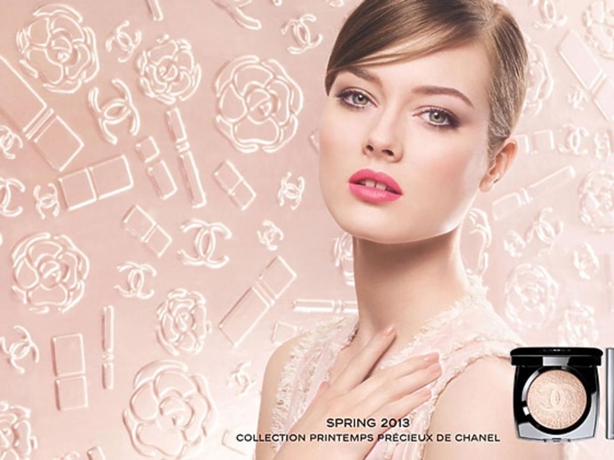 Monika Jac Jagaciak w kampanii Chanel