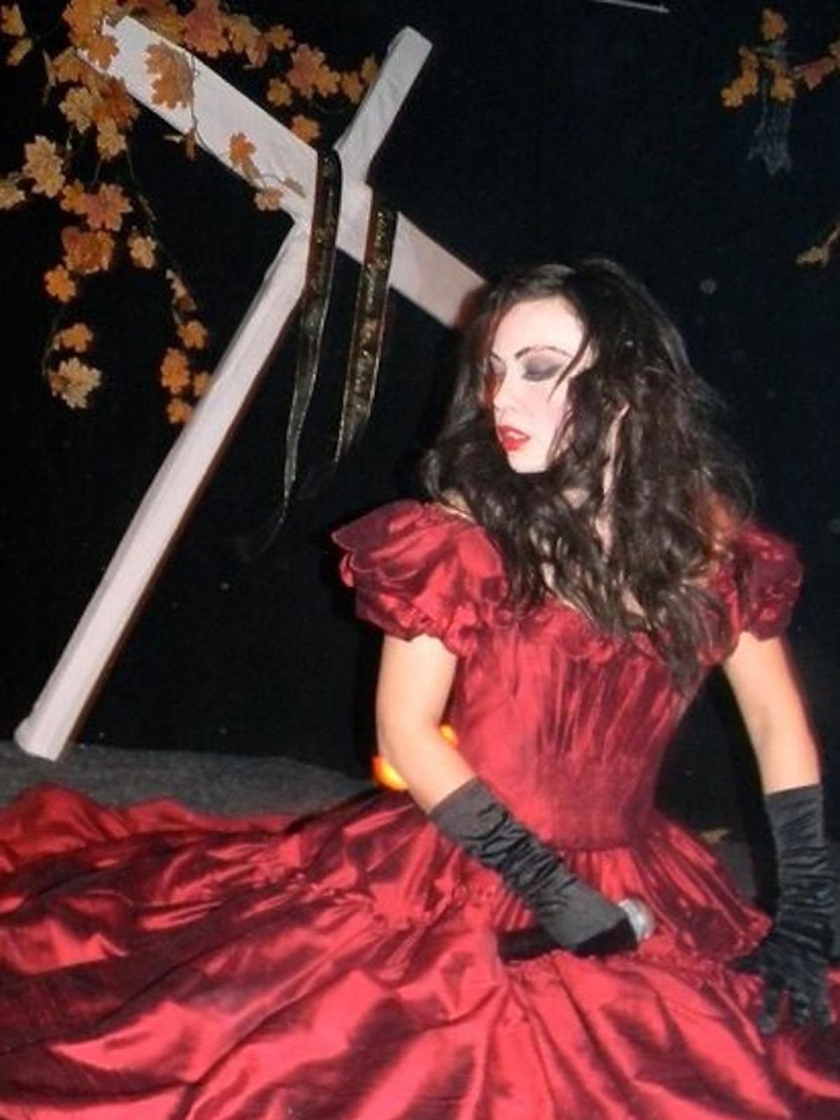 Monika Jarosińska na Halloween wybrala przebranie upadłej kobiety