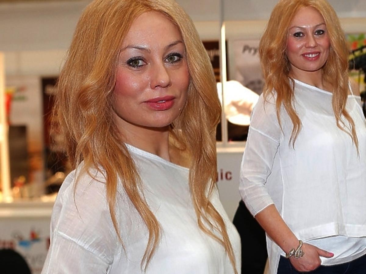 Monika Jarosińska na imprezie Kulinarny Talent 2014