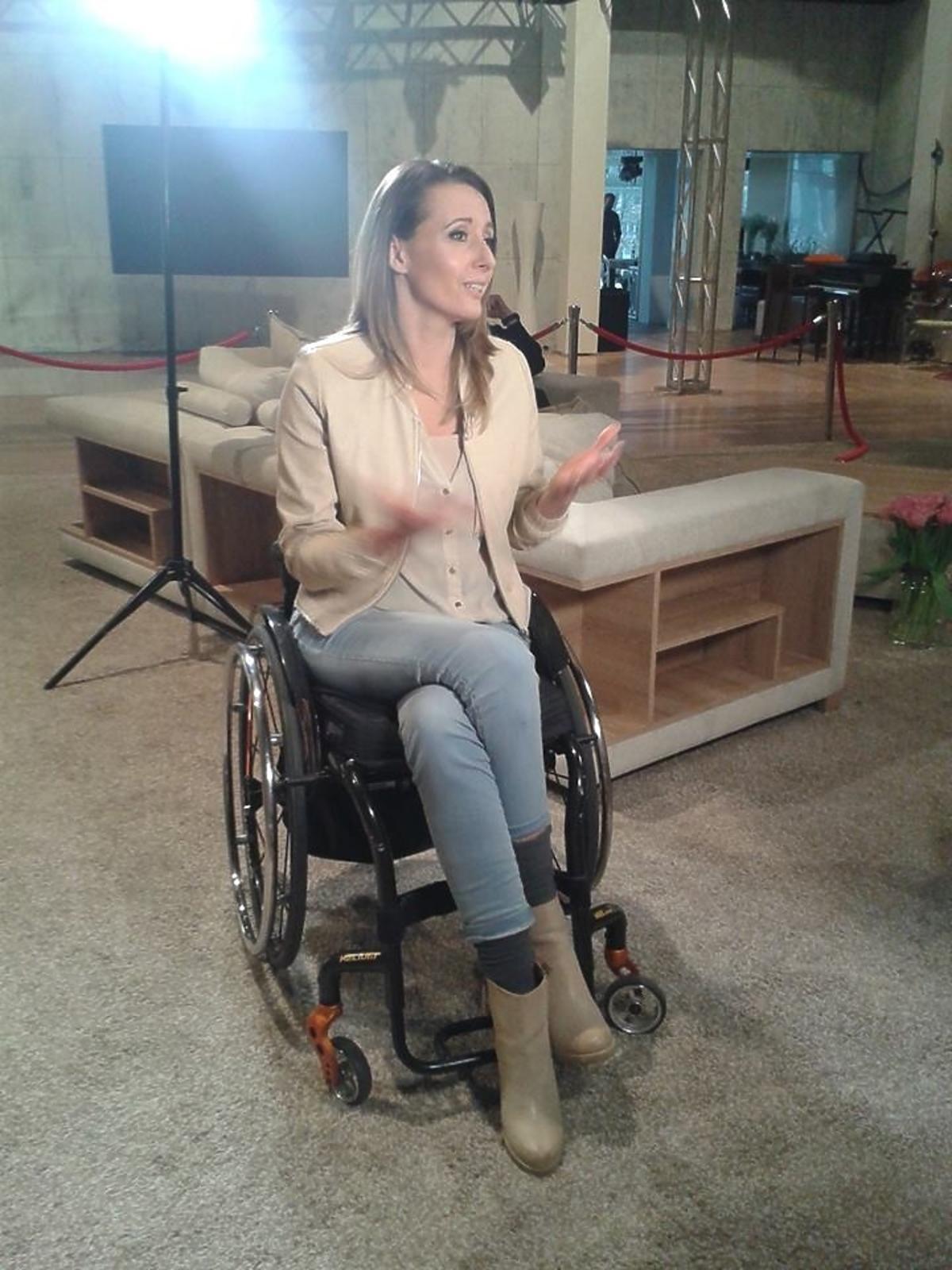 Monika Kuszyńska kręci trailer do Eurowizji