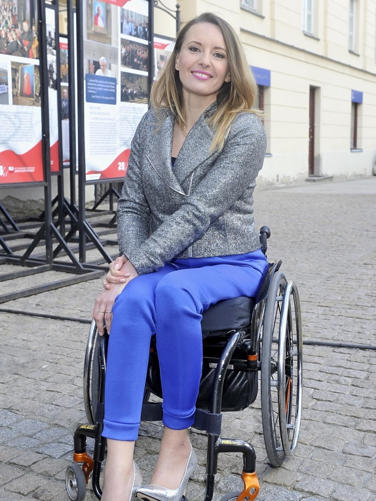 Monika Kuszyńska na koncercie 25-lecia Wspólnoty Polskiej