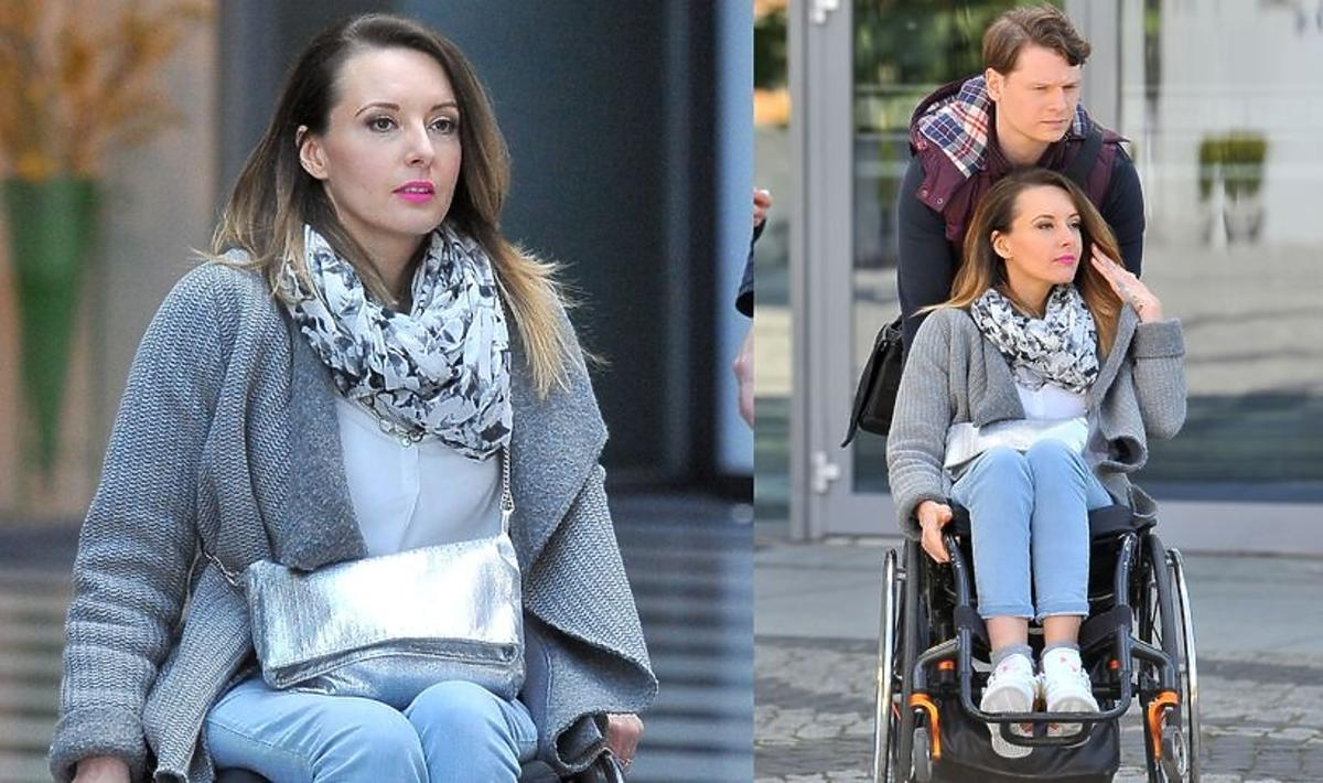 Monika Kuszyńska przez ciążę zrezygnowała z operacji, dzięki której mogłaby chodzić