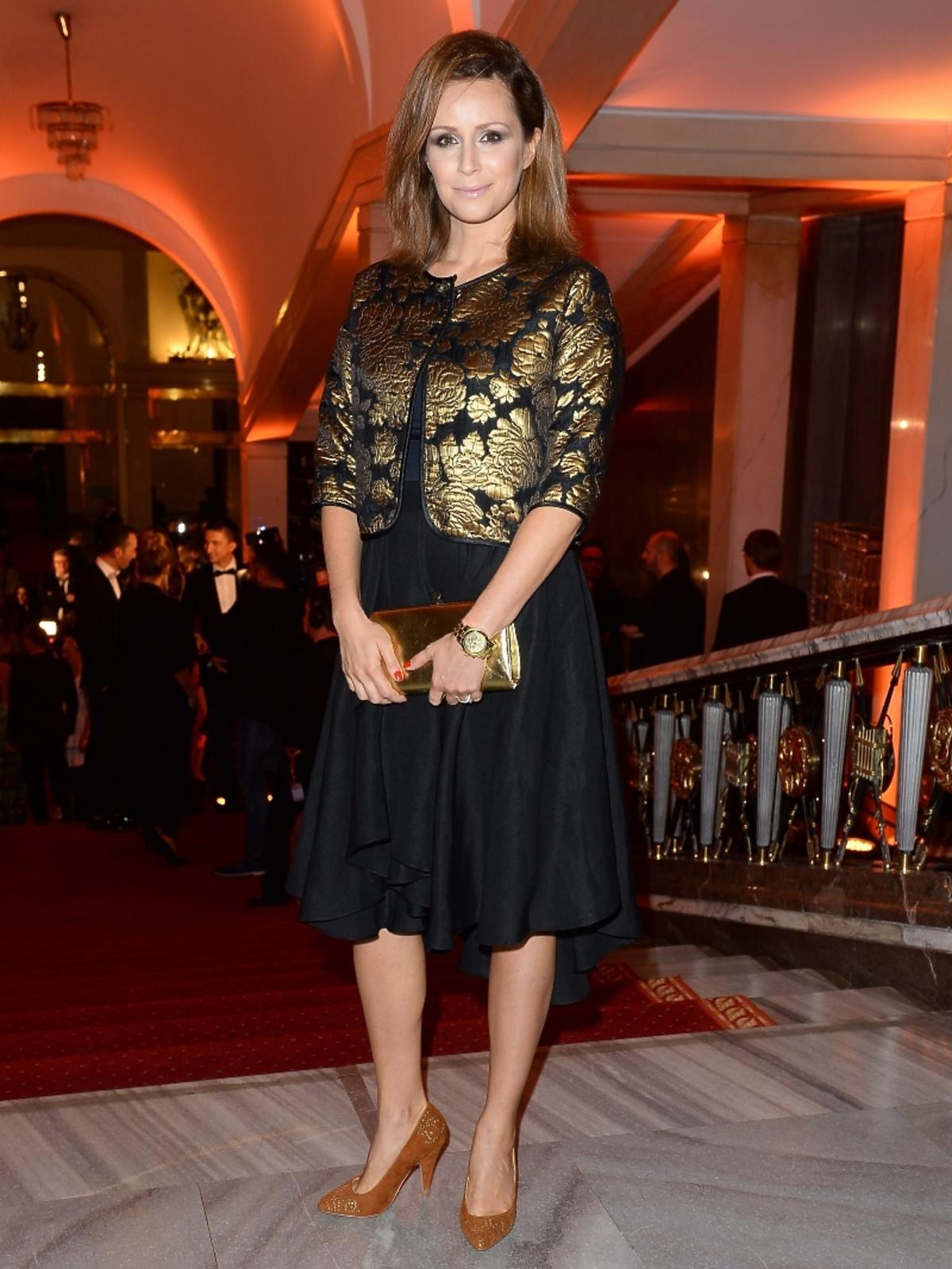 Monika Mrozowska na imprezie Flesz Fashion Night