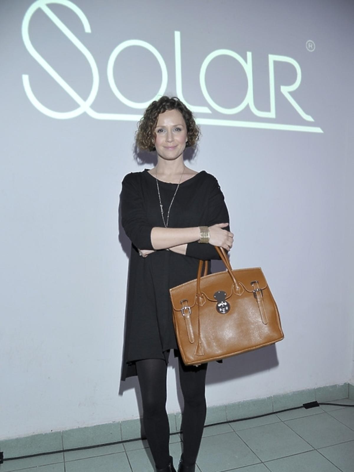 Monika Mrozowska na premierze albumu