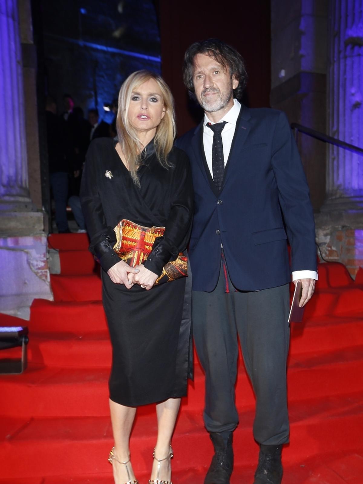 Monika Olejnik i Szymon Ziółkowski na Elle Style Awards 2014