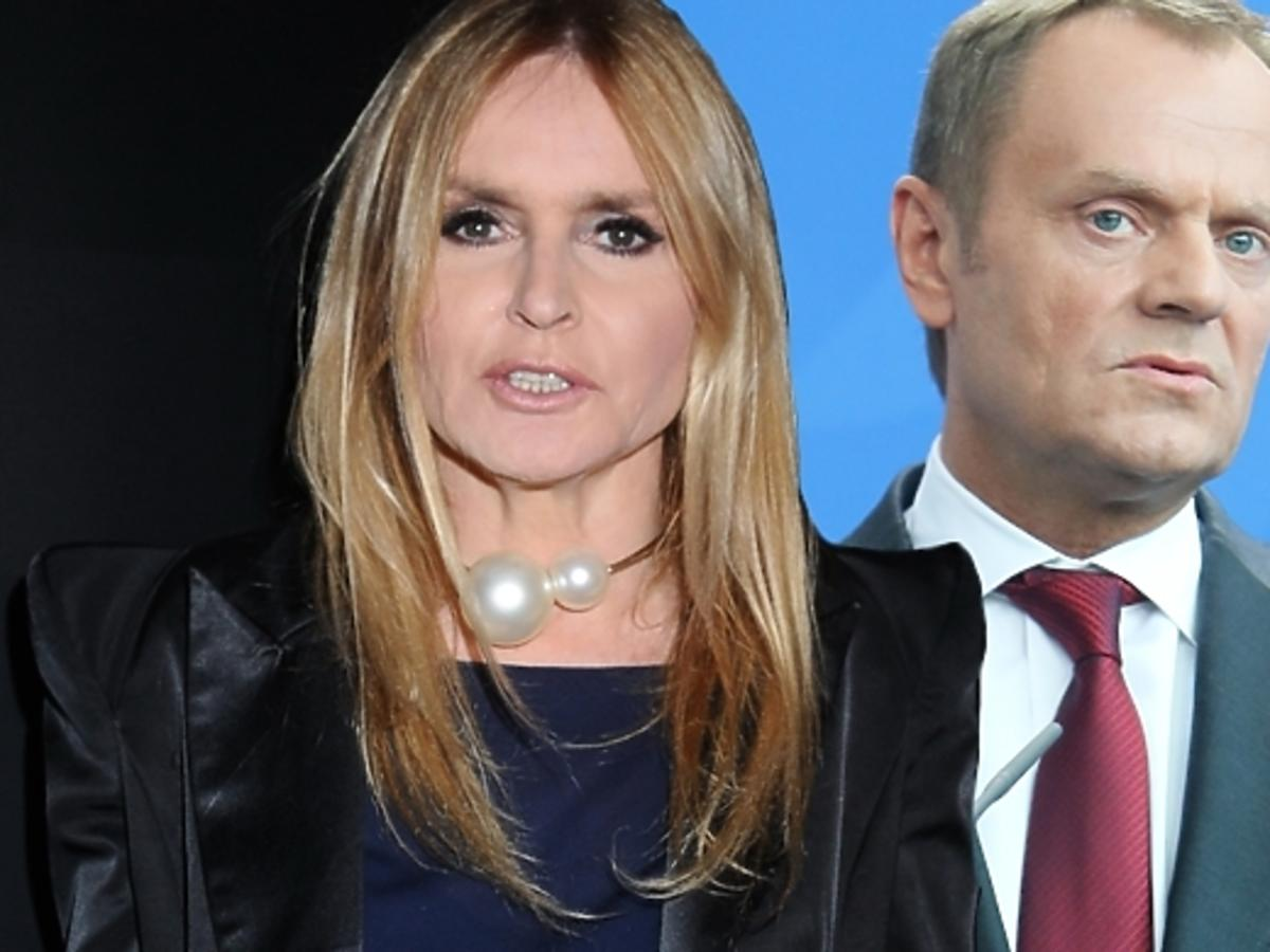 Monika Olejnik krytykuje Donalda Tuska