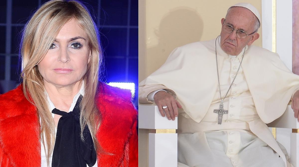 Monika Olejnik, papież Franciszek