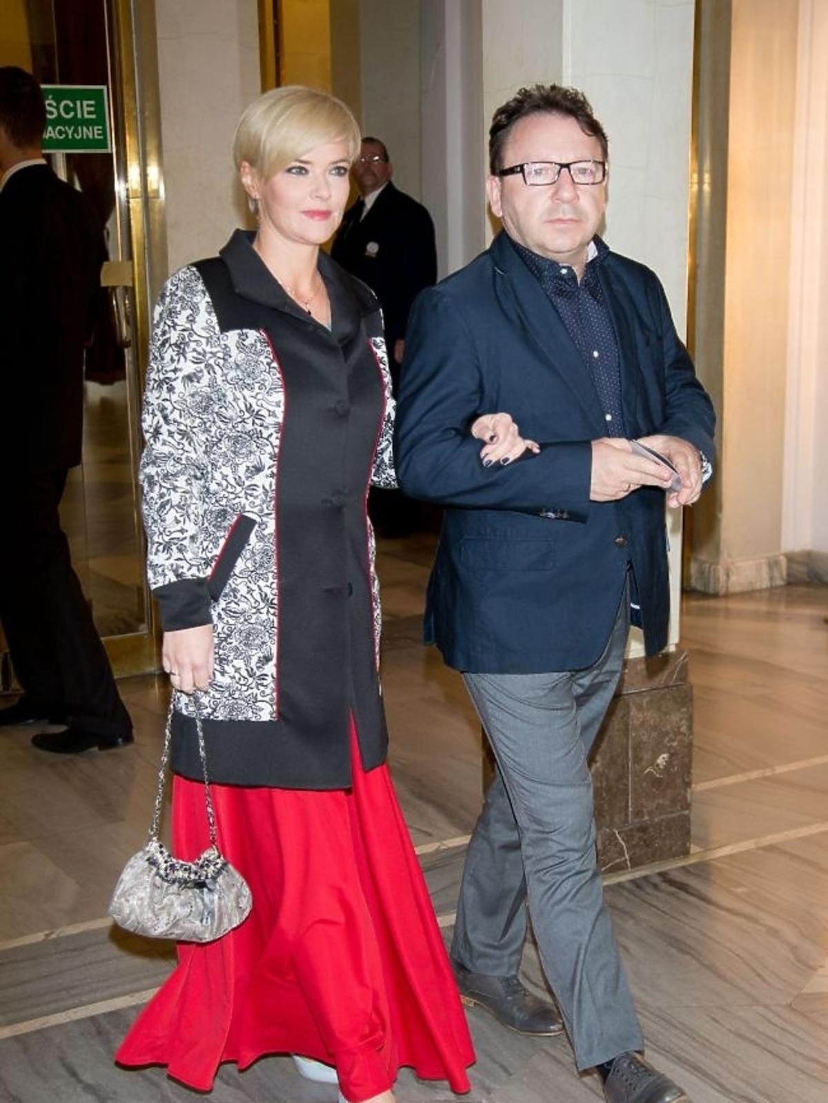 Monika Richardson i Zbigniew Zamachowski na 10-leciu Polskiego Instytutu Sztuki Filmowej
