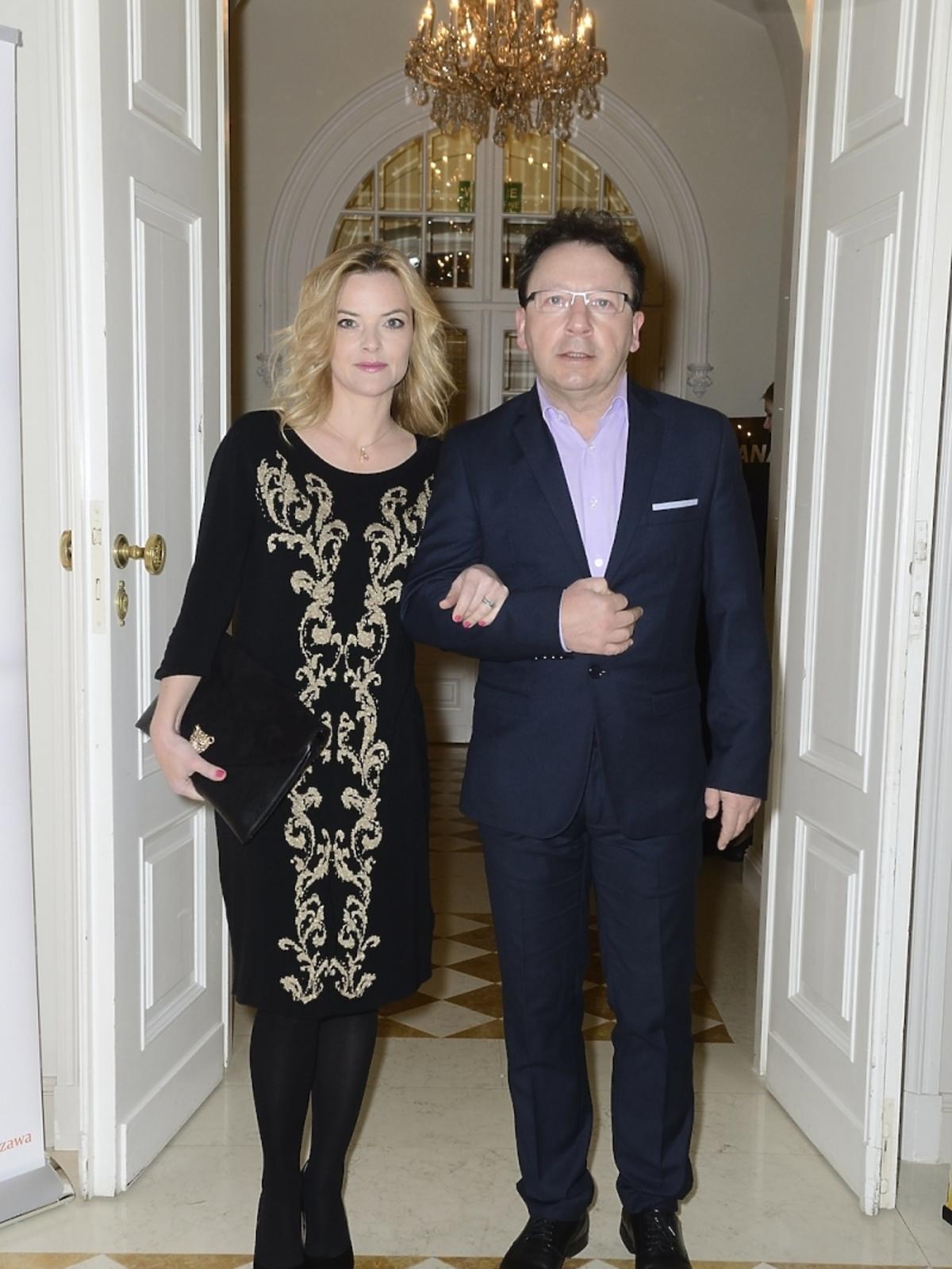 Monika Richardson i Zbigniew Zamachowski na Oscarach 2014