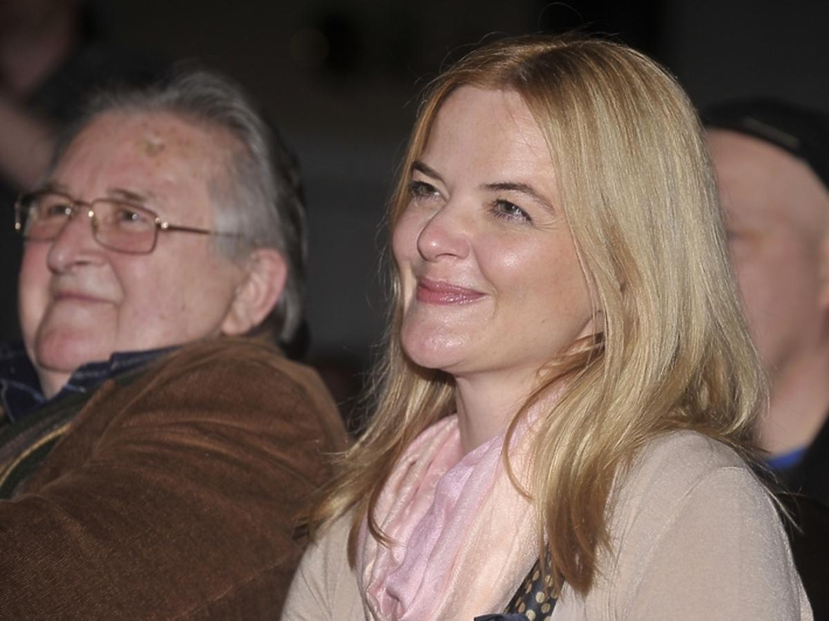 Monika Richardson w Sandomierzu na X. Festiwal Filmów Niezwykłych w Sandomierzu