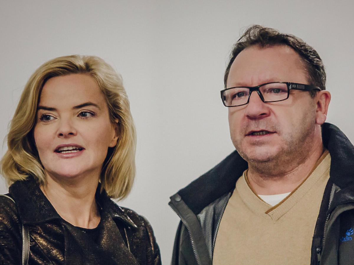 Monika Zamachowska i Zbigniew Zamachowski
