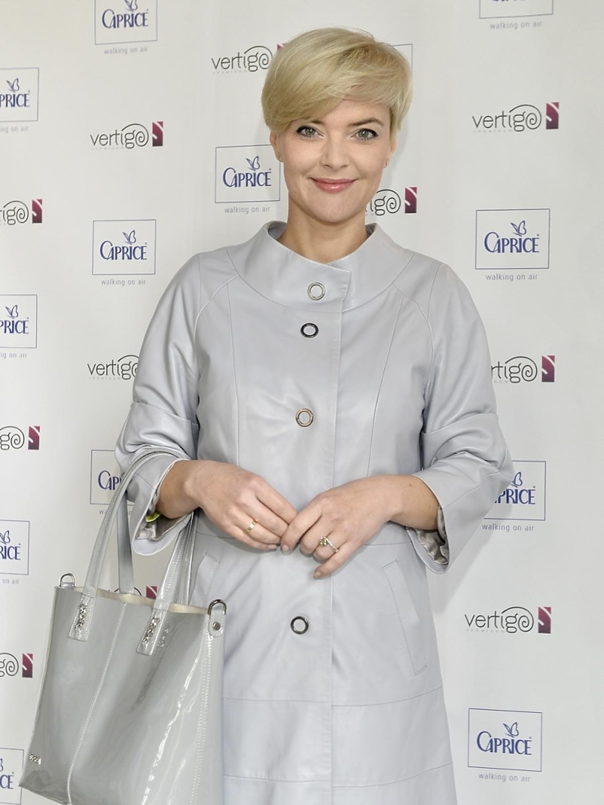 Monika Zamachowska na dniu otwartym marki Caprice