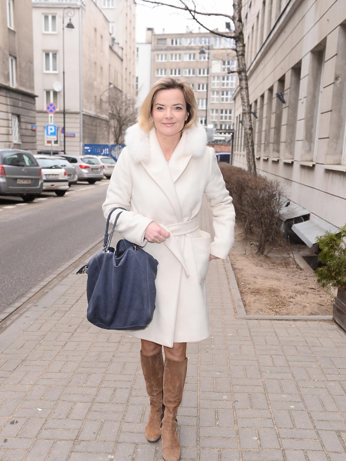 Monika Zamachowska na prezentacji nowej kolekcji Nessi