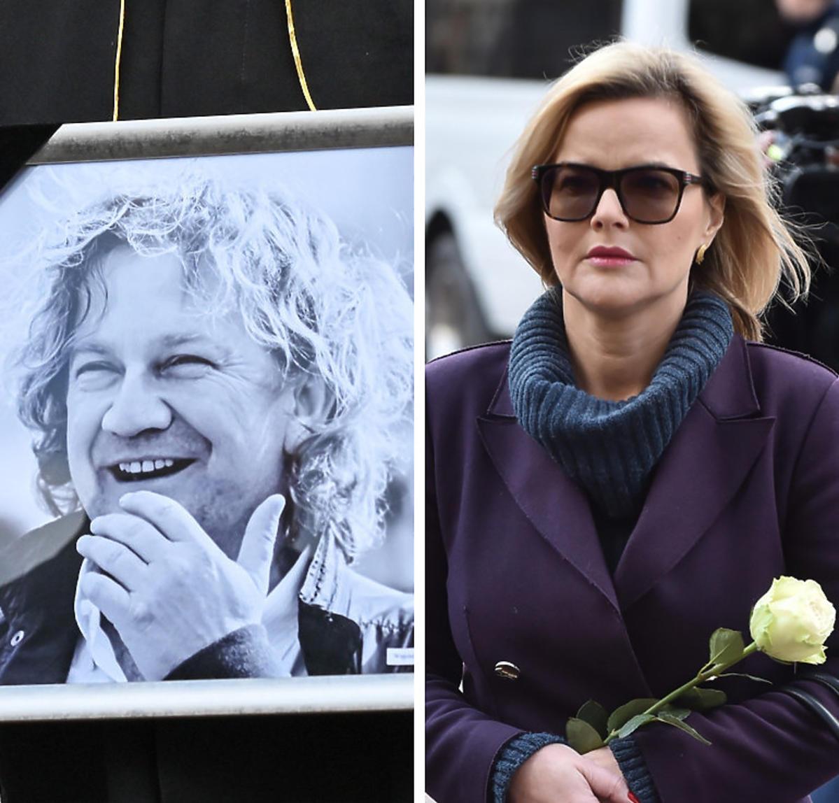 Monika Zamachowska o pogrzebie Pawła Królikowskiego