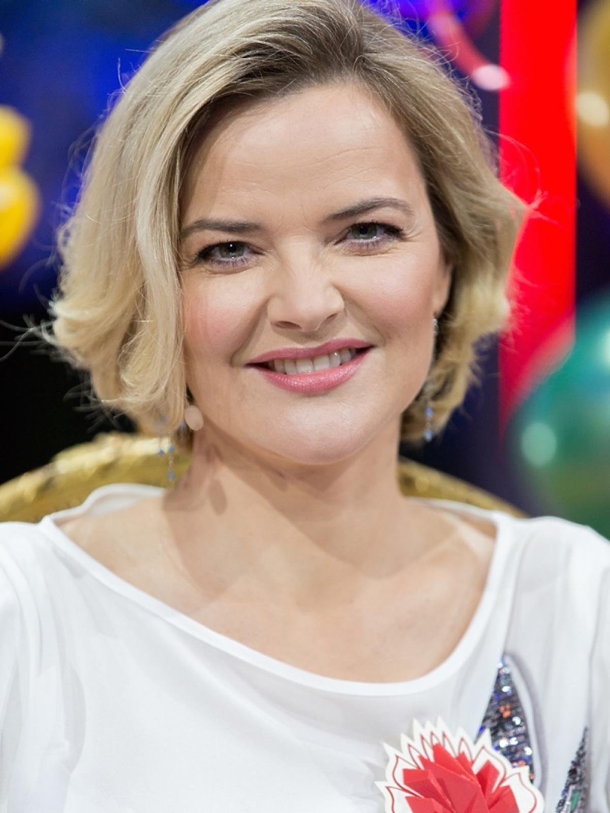 Monika Zamachowska w krótkich włosach