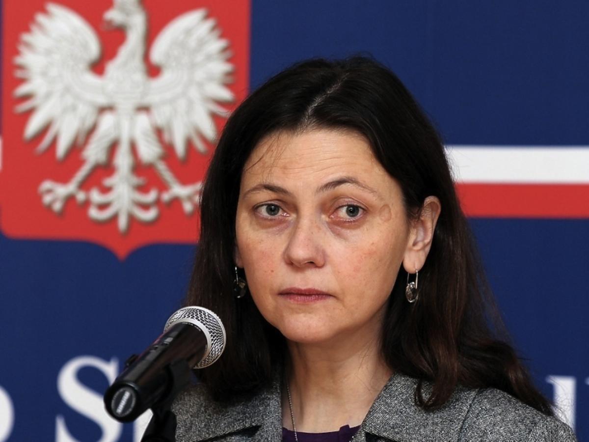Monika Zbrojewska, wiceminister sprawiedliwości