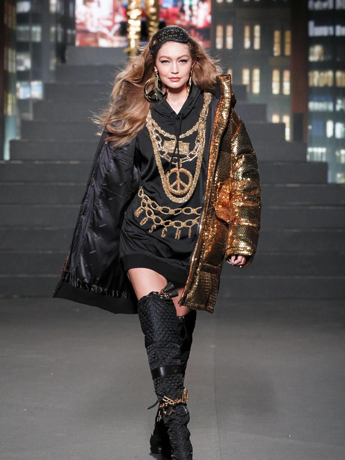 MOSCHINO[tv] H&M, Gigi Hadid