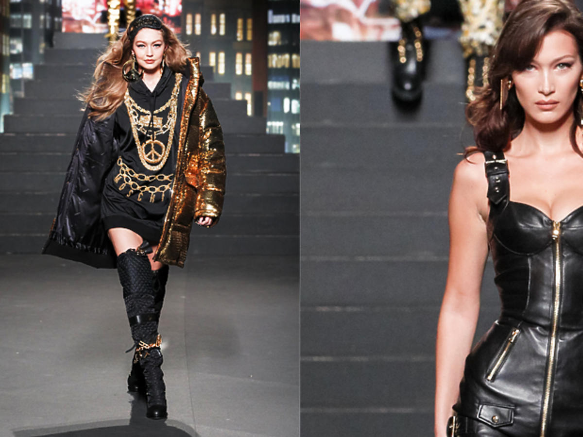 MOSCHINO[tv] H&M, Gigi Hadid, Bella Hadid