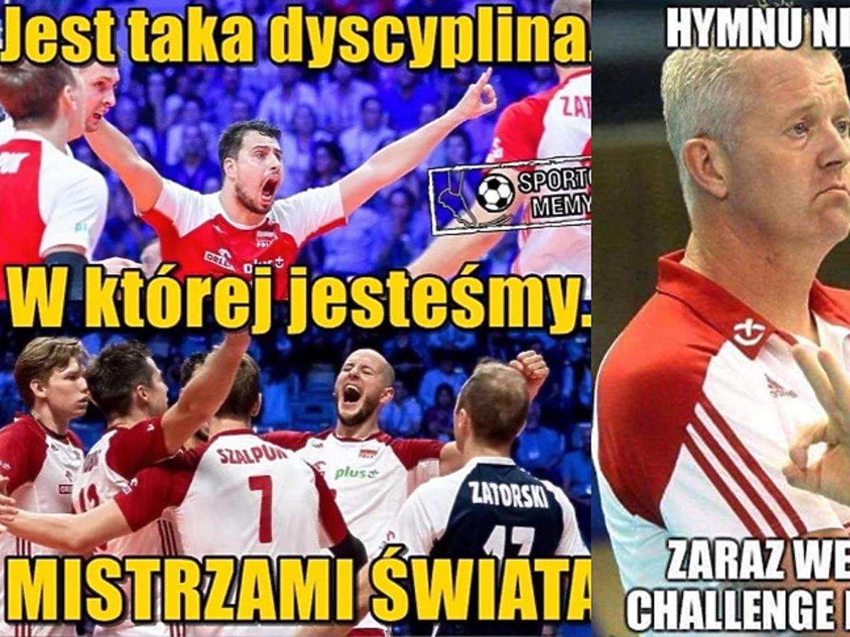 MŚ siatkarzy: Memy po meczu Polska-Brazylia