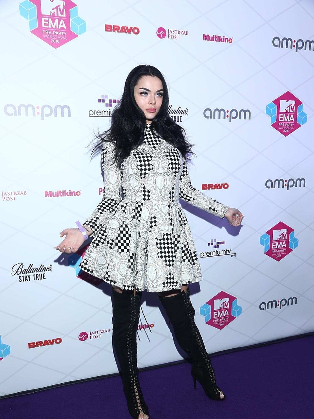 MTV EMA Pre-Party, Luxuria Astaroth