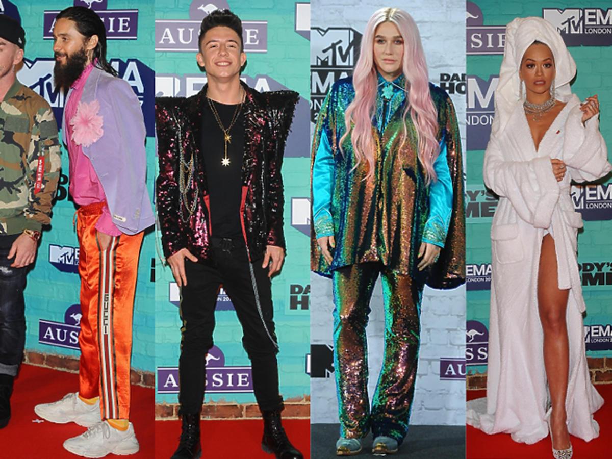 MTV EMA stylizacje
