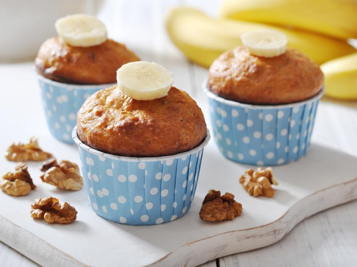 muffinki w foremkach