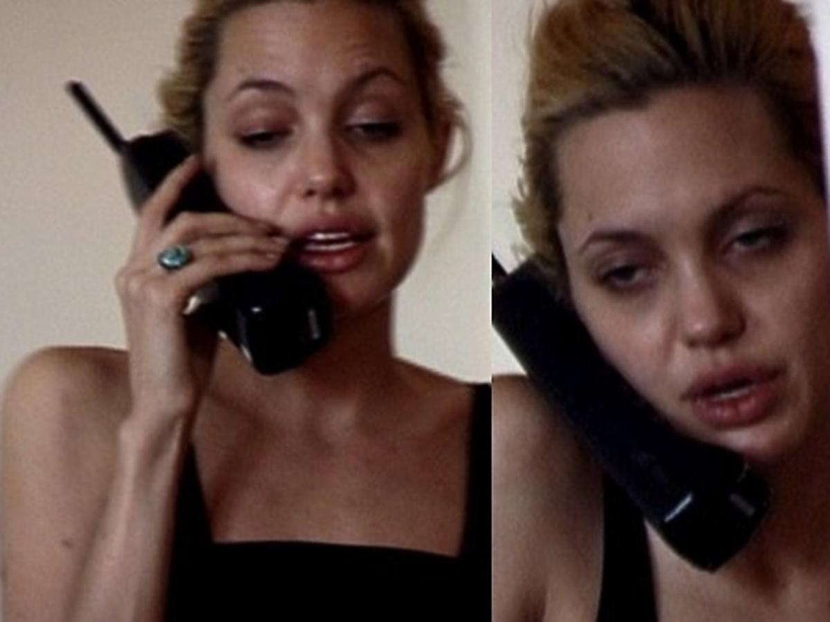 Naćpana Angelina Jolie na nagraniu z 1999 roku