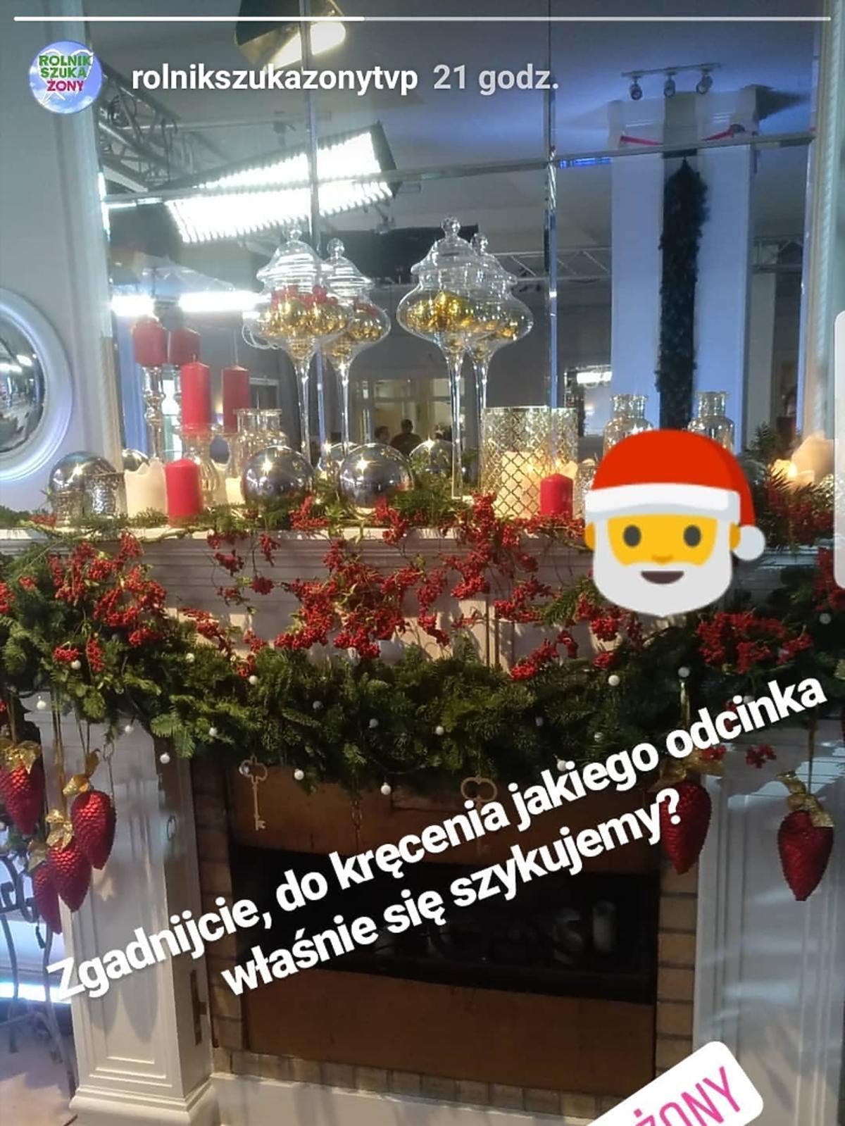 Nagrania świątecznego odcinka Rolnik szuka żony