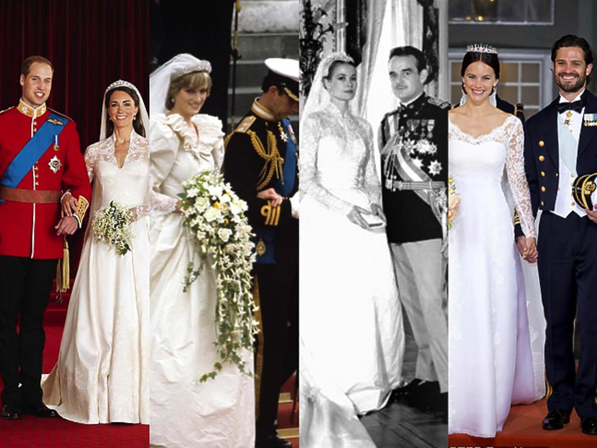 Najbardziej ikoniczne królewskie śluby