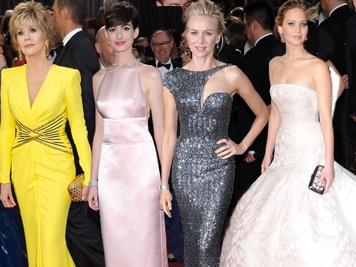 Najlepsze kreacje gwiazd na rozdaniu Oscarów 2013