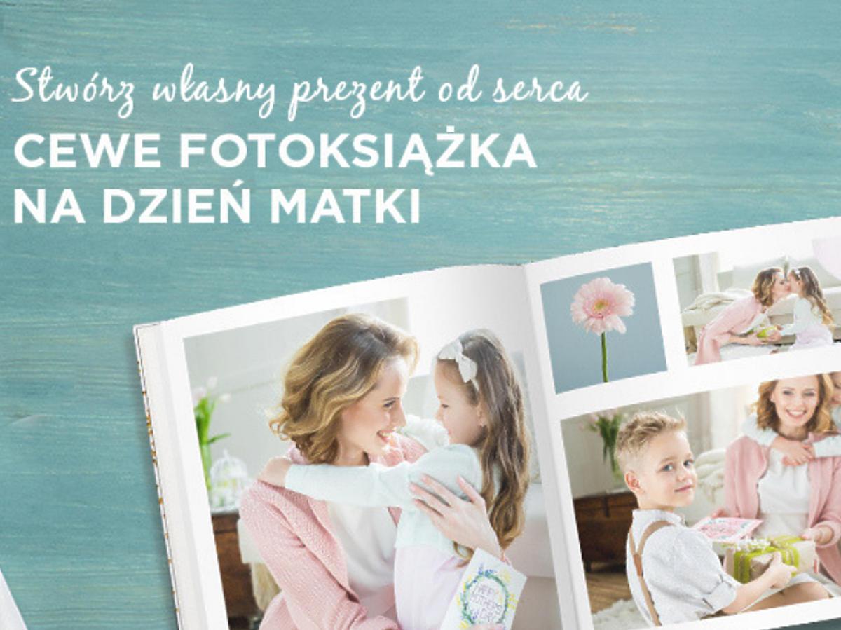 Najlepszy prezent na Dzień Matki: Fotoksiążka Cewe