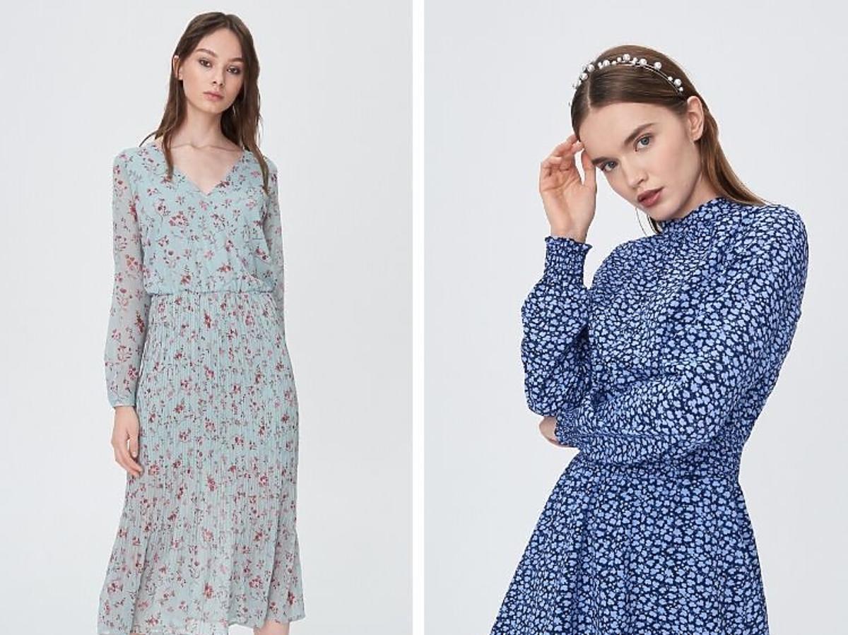 Najmodniejsze sukienki z wyprzedaży Sinsay za mniej niż60 zł
