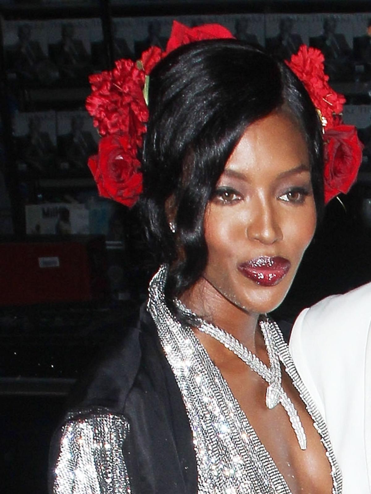 Naomi Campbell na urodzinach Mario Testino w Londynie