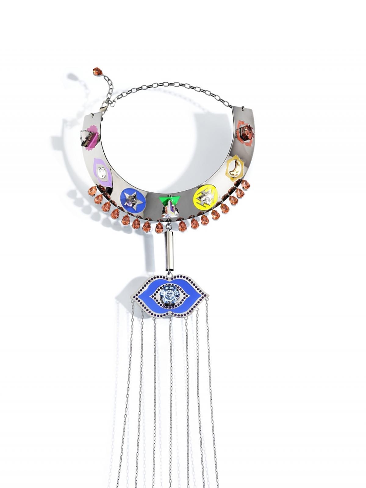 Naszyjnik z kryształkami