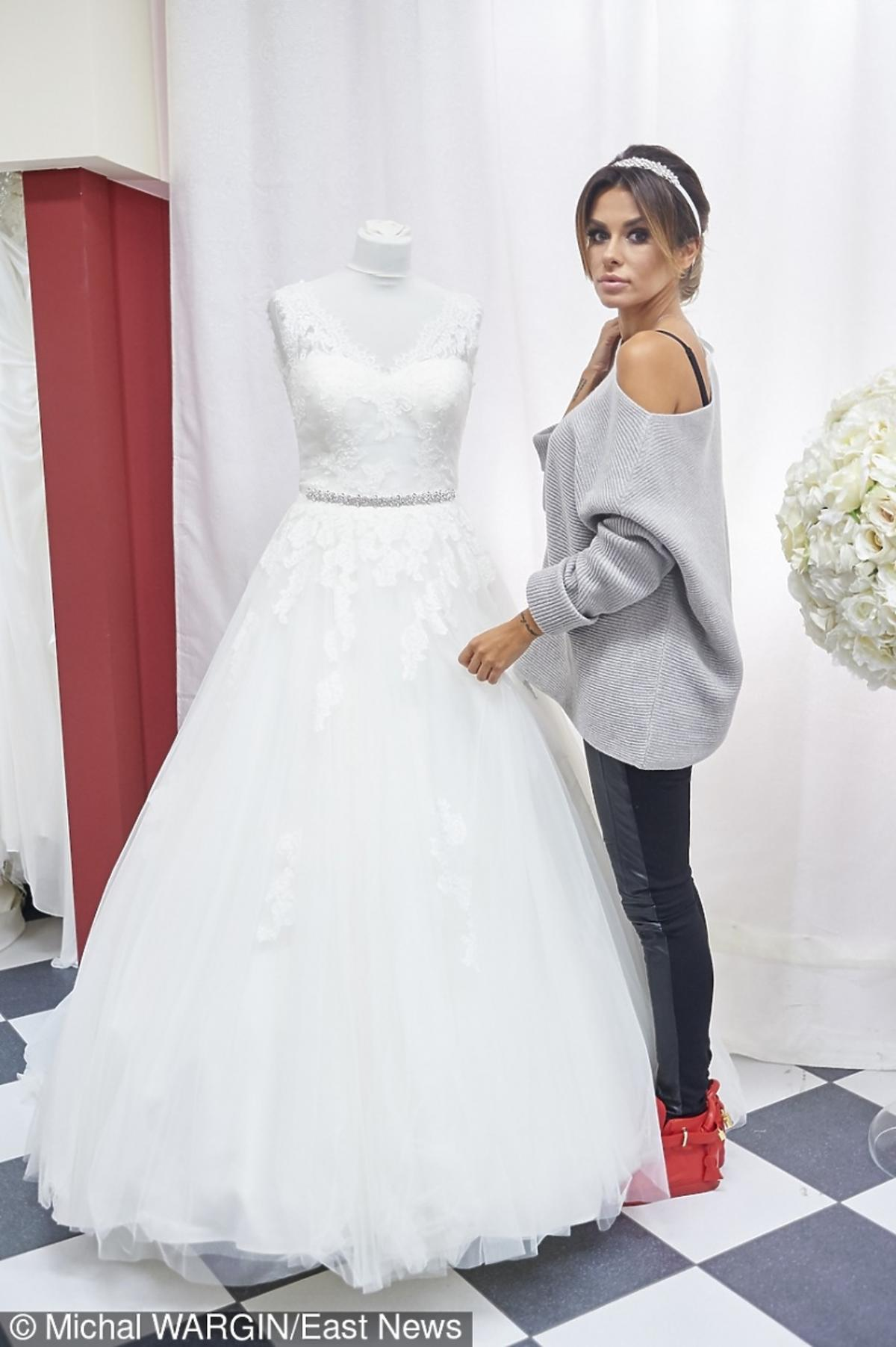 Natali Siwiec i sukienka ślubna